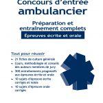 Concours d'entrée Ambulanciers • Préparation et entraînement complets -