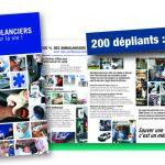 Dépliant Ambulanciers pour la vie ! -